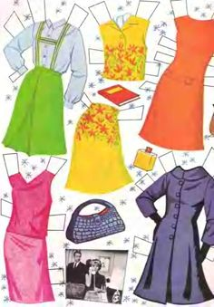 Hayley Mills paper doll clothes from That Darn Cat / eBay