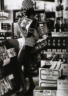 Naomi Campbell by Ellen von Unwerth ca. 1991