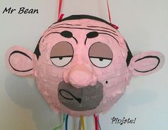 Items similar to Mr BEAN pinata on Etsy Mr Bean Cake, Bean Cakes, Mr Bean Birthday, Birthday Gifts, 5th Birthday, Mr Bean Quotes, Mr Bin, Mr Bean Cartoon, Mr Bean Funny