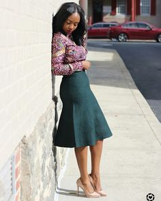find over 50 Beautiful Africa women office outfits for you to try, Stay sexy in your day to day business and always look like the box in the office. Church Fashion, Office Fashion, Work Fashion, Modest Fashion, Fashion Outfits, Woman Outfits, Fashion Tips, Black Women Fashion, Womens Fashion