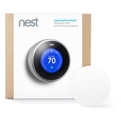 Use a smartphone to adjust your home thermostat.