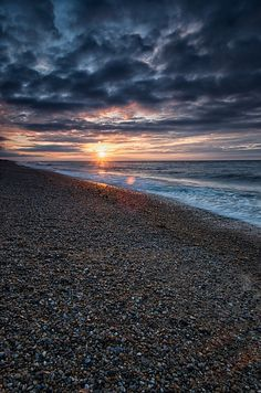 Salthouse Sunset2 by wardie