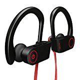 #8: Bluetooth Headphones Otium Best Wireless Sports Earphones w/ Mic IPX7 Waterproof HD Stereo Sweatproof In Ear Earbuds for Gym Running Workout 8 Hour Battery Noise Cancelling Headsets #FabOffers #FabBestSellers #CellPhone #Mobile