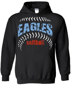 eagles spiritwear hoodie design school spiritwear shirts and apparel use your mascot graphic or - Softball Jersey Design Ideas