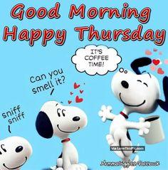 thursday good morning coffee - Google Search