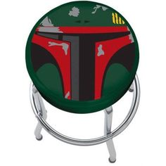 Star Wars Boba Fett Stool, Silver