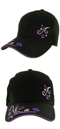 f891533e310 Purple Paw Spark Baseball Hat at The Animal Rescue Site