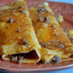 """Beef Enchiladas II 