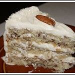 Italian Cream Cake Recipe from Grandmothers Kitchen. Southern Desserts, Just Desserts, Delicious Desserts, Yummy Food, Italian Desserts, Food Cakes, Cupcake Cakes, Cupcakes, Cake Recipes