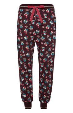 Pyjamabroek met uil Twit Twoo