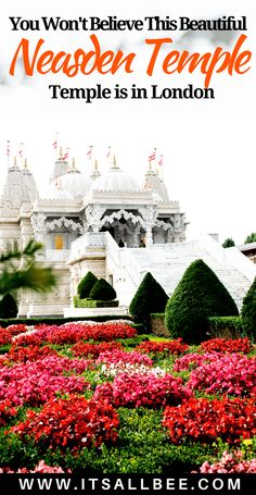 Visiting London? Neasden Temple a Hindu Mandir is a must see. Swaminarayan temple also is known as Neasden Temple in London is an absolute must see. It's little bit of India in London. Details of how to get to London Neasden Temple by train or car(parking at Neasden Temple).