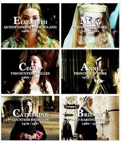 The White Queen - Princesses of York Fancast
