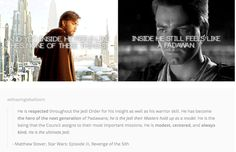 Obi-Wan Kenobi (2/2) <---And this coupled with Anakin's description, and then their joint description is why I've only gotten through two chapters of the book so far and it's been a month...:'(