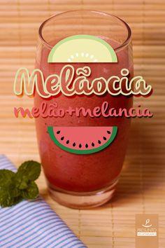Suco de melão e melancia