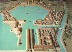 Il porto di Traiano, un esagono con i lati di 200 metri