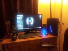 My alienware gaming setup