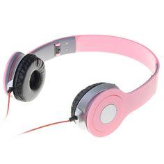 Fashion Adjustable Headband Earphones with Mic Bluetooth Stereo Headset, Bluetooth Headphones, Over Ear Headphones, Red Headband, Samsung Galaxy S5, No Equipment Workout, Fitness Equipment, Ipod, Iphone 6