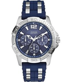 GUESS Multifunction Blue Rubber Strap Μοντέλο: W0366G2 Η τιμή μας: 169€ http://www.oroloi.gr/product_info.php?products_id=39887