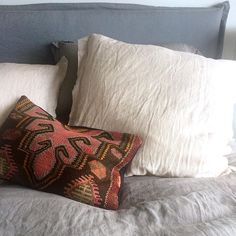 #corcovadohome #bedroom #kilimcushion #linen #bedlinen #furniture #homewares #corcovadstyle #sumnerbeach #christchurchnz Throw Pillows, Instagram Posts, Furniture, Home, Design, Toss Pillows, Cushions, Ad Home