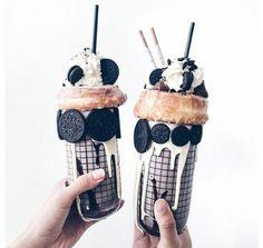 Imagen de food, oreo, and drink