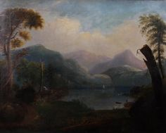 Hudson River School, Mid 19th Century, Oil on Canvas. Starting Bid: $900