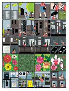 pinkshirtsandcarwrecks: MPLS: Chris Ware at Twin Cities Book Festival