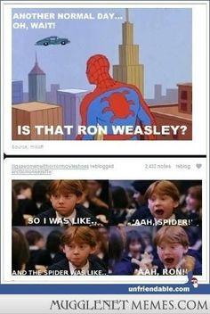 Lolololol! I really should start a Harry Potter board...