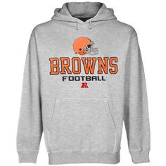 Cleveland Browns Ash Critical Victory V Hoodie Sweatshirt