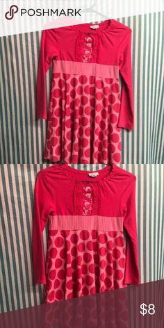 Naartie kids sz 6/7 Lk nw long sleev think spring So cute n soft n Lk new naartjie kids Dresses