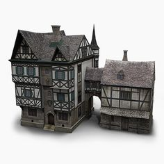 old german house 3ds