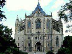 Cathedral of St. Barbara in Kutna Hora