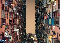 Buildings In Use: Yick Cheong Building, Hong Kong, by Public housing development, photographed by Tan Lingfrei
