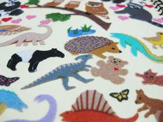 Fuzzy Stickers