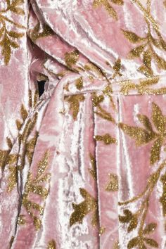 Pink & Gold velvet ★