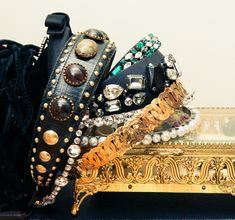 """""""Headbands are my go to when I'm having a bad hair day."""" http://www.thecoveteur.com/irene-chung-marc-jacobs/"""