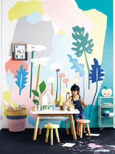 pastel pop kid's room   domino.com