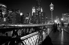 Brooklyn Bridge - November 2011  Photo by Gianna Caravello