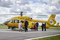The Queen unveils new East Anglian Air Ambulance base in Cambridge