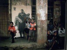 Soweto. Ernest Pignon Ernest. Lien vers le site officiel.