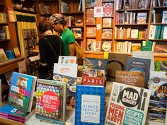 I SO want to check out the Cook Book Stall in Philadelphia's Reading Terminal Market. Not only a wide arrange of beautiful cookbooks, but just interesting in what she picks.