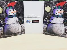 Check out our snazzy Christmas cards designed by Scott Keappock from Faithlegg who was the winner of our @winterval_waterford card competition! #LifeAtWLR #Christmas #card