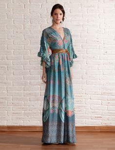 Vestido Longo OrienteEsse foi o primeiro vestido da Antix que me apaixonei <3