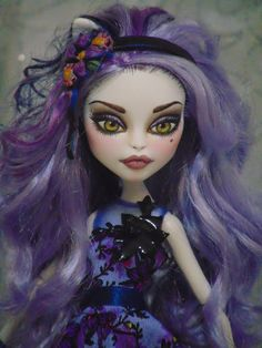 ~ Muirenn ~ OOAK Monster High Gloom & Bloom Catrine Repaint Doll ~ by Bordello ~