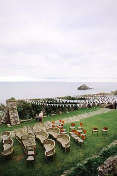 English Cornwall wedding venue by Love Oh Love Photography