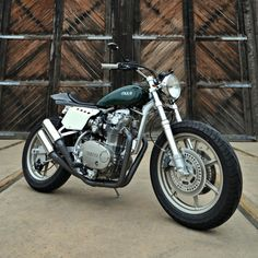 This whole article about how to build a café racer is full of eye candy, but I forced myself to pick just one favorite. This one won. I rarely dig contemporary Yamahas, but they do seem to make awesome foundations for customizing into café racers. Yamaha XS650 cafe racer by Mule