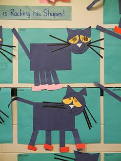328 best childrens book inspired art images on pinterest art pete the cat shapes graphing and shapes monster craft cute fandeluxe Choice Image