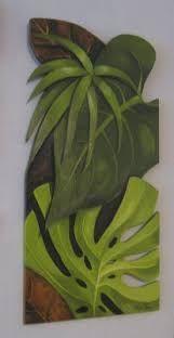 Resultado de imagen para argina seixas Fabric Painting, Painting On Wood, Abstract Canvas, Canvas Art, Outdoor Wall Art, Tropical Art, Colorful Paintings, Leaf Art, Mural Art