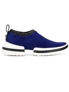 d827c2b57277 STUART WEITZMAN STUART WEITZMAN SLIP-ON TRAINERS - BLUE.  stuartweitzman   shoes