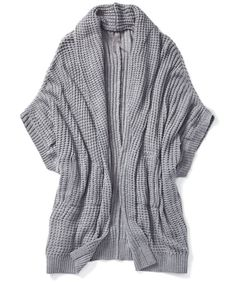 Melissa McCarthy Seven7: cocoon sweater, $99 CAD at Penningtons