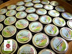 Customized Wedding Favor Candles. #candle